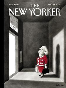 The New Yorker Cover - November 22, 2004 by Ian Falconer