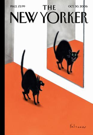 The New Yorker Cover - October 30, 2006 by Ian Falconer