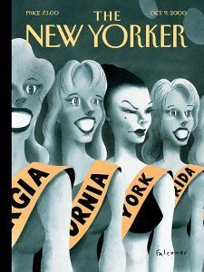 The New Yorker Cover - October 9, 2000 by Ian Falconer