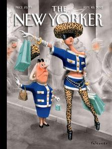 The New Yorker Cover - September 10, 2012 by Ian Falconer