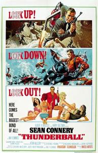 """Ian Fleming's Thunderball, 1965, """"Thunderball"""" Directed by Terence Young"""