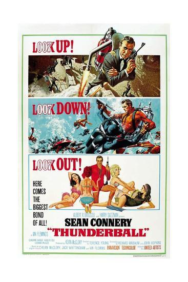 """Ian Fleming's Thunderball, 1965, """"Thunderball"""" Directed by Terence Young--Giclee Print"""