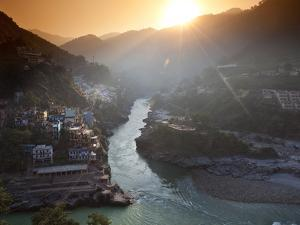Devprayag, India: the Official Start of the Ganges River by Ian Shive