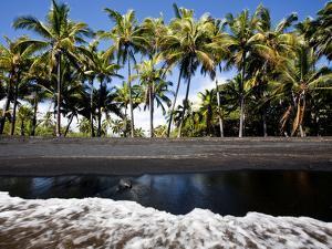 Punalu'U, Hawaii: the Punalu'U Black Sand Beach by Ian Shive