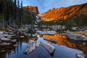 Rocky Mountain National Park, Colorado: Sunrise On Dream Lake by Ian Shive