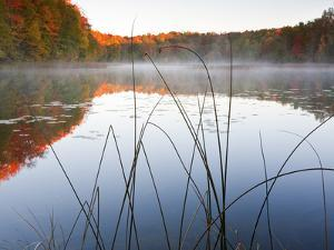 Sunrise on a Lake in Northern Maine. by Ian Shive