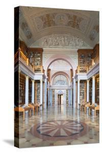 Abbey Library by Ian Trower