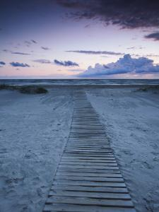 Beach at Dusk, Liepaja, Latvia by Ian Trower