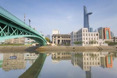 Bitexco Financial Tower and Ben Nghe River, Ho Chi Minh City, Vietnam, Indochina