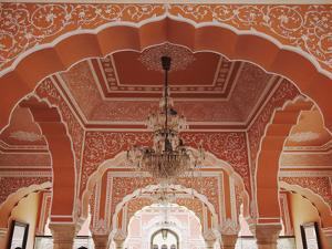 Diwan-I-Khas (Hall of Private Audience), City Palace, Jaipur, Rajasthan, India by Ian Trower