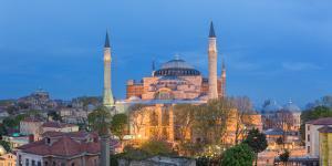 Hagia Sophia (5th century), Istanbul, Turkey by Ian Trower