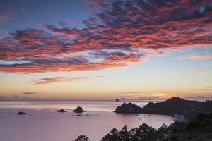 Hahei Beach at Sunrise, Coromandel Peninsula, North Island, New Zealand by Ian Trower