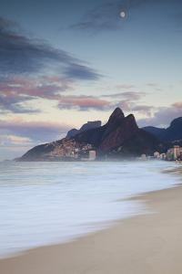 Ipanema Beach at Dawn, Rio De Janeiro, Brazil by Ian Trower