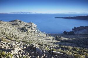 Isla del Sol (Island of the Sun), Lake Titicaca, Bolivia, South America by Ian Trower