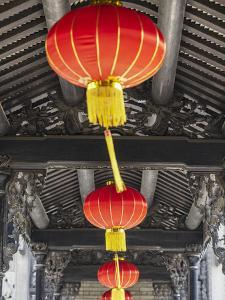 Lanterns at Chen Clan Academy, Guangzhou, Guangdong, China by Ian Trower