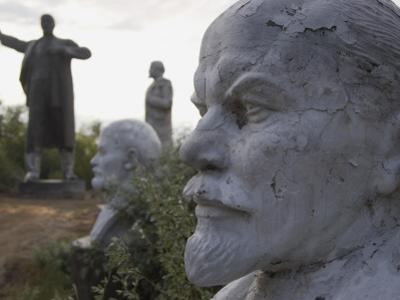 Lenin Statues, Semey, Kazakhstan