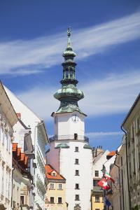 Michael's Gate, Bratislava, Slovakia, Europe by Ian Trower