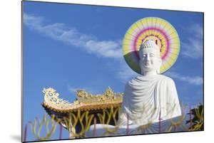 Statue at Vien Minh Pagoda, Ben Tre, Mekong Delta, Vietnam, Indochina, Southeast Asia, Asia by Ian Trower