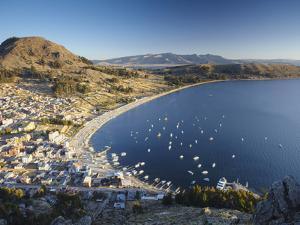View of Copacabana, Lake Titicaca, Bolivia by Ian Trower