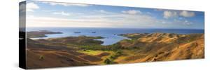 View of Nacula Island, Yasawa Islands, Fiji by Ian Trower