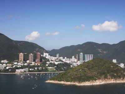 View of Repulse Bay from Ocean Park, Hong Kong Island, Hong Kong, China, Asia