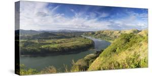 View of Sigatoka River, Sigatoka, Viti Levu, Fiji by Ian Trower