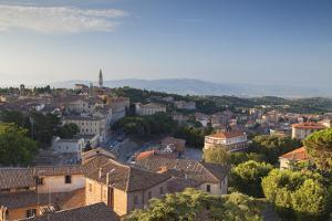 View over Perugia, Umbria, Italy by Ian Trower