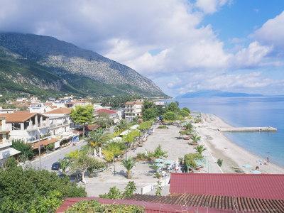 Kefalonia, the Beach at Poros