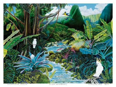 Iao Valley, Maui, Hawaii-Ari Vanderschoot-Art Print