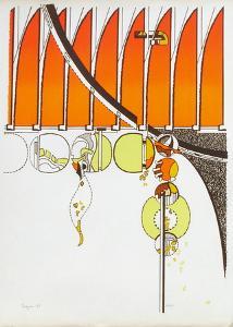 Composition II by Iaroslav Serpan