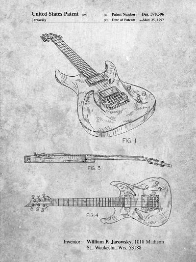 Ibanez Pro 540Rbb Electric Guitar Patent-Cole Borders-Art Print