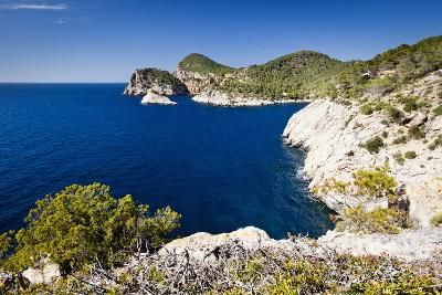 Ibiza Coastline at Cap Nono-Jorg Greuel-Photographic Print