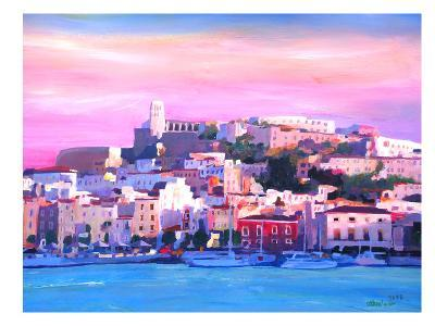 Ibiza Old Town And Harbour Pearl Of The Mediterranean-M Bleichner-Art Print