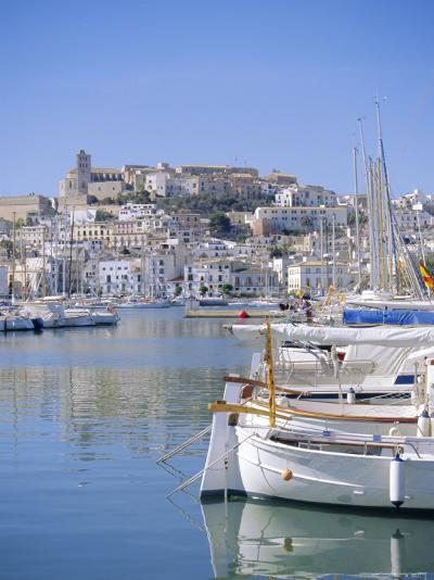 Ibiza Town and Harbour, Ibiza, Balearic Islands, Spain, Europe-Firecrest Pictures-Photographic Print