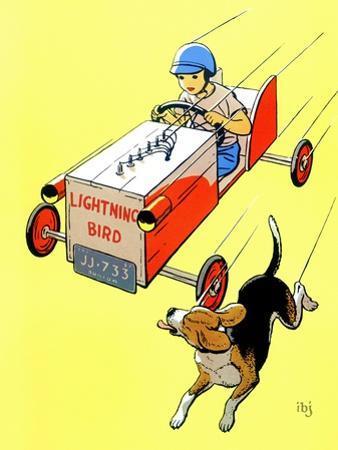 Matchbox Race - Jack and Jill, July 1958
