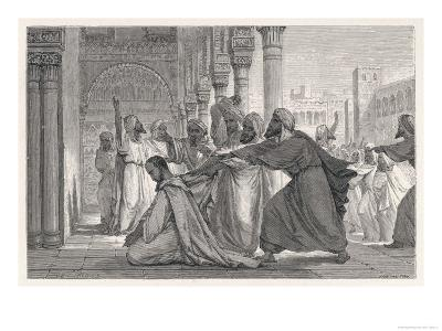 Ibn Rushd, Known in the West as Averroes, Spanish-Islamic Philospher- Figuier-Giclee Print