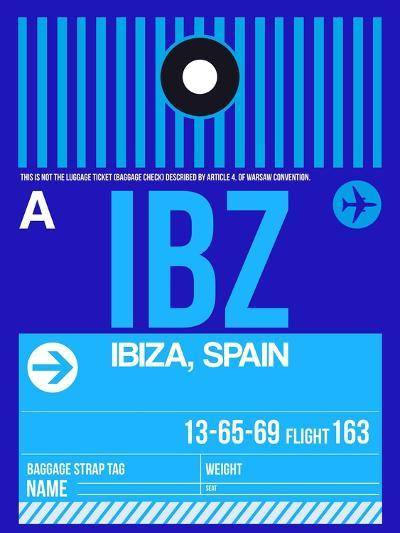IBZ Ibiza Luggage Tag II-NaxArt-Art Print