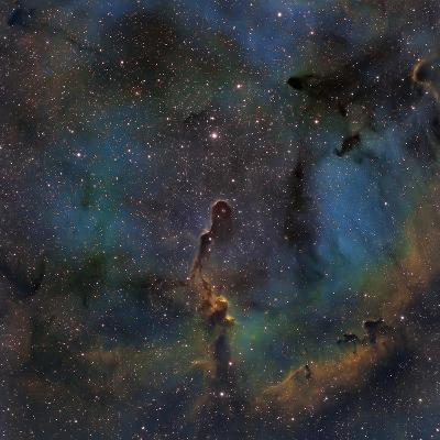 Ic 1396, the Elephant Trunk Nebula--Photographic Print