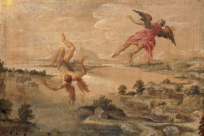 Icarus' Fall--Giclee Print