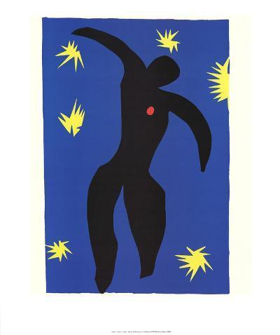 Icarus-Henri Matisse-Art Print