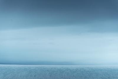 Ice Along Western Coast of Nordaustlandet-Michael Melford-Photographic Print