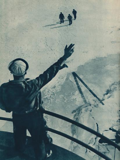 'Ice Bridge in U.S.A.', 1936-Unknown-Photographic Print