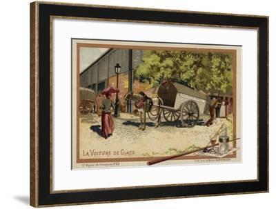 Ice Cart--Framed Giclee Print