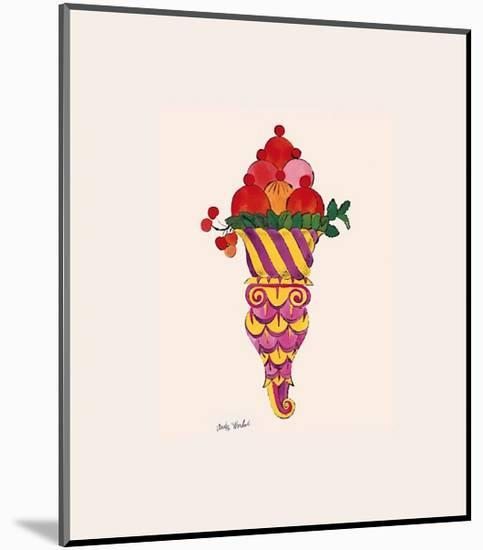 Ice Cream Dessert, c.1959 (Fancy Red)-Andy Warhol-Mounted Giclee Print