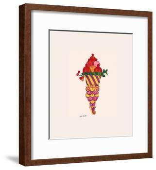 Ice Cream Dessert, c.1959 (Fancy Red)-Andy Warhol-Framed Giclee Print