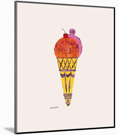 Ice Cream Dessert, c.1959 (Red and Pink)-Andy Warhol-Mounted Giclee Print