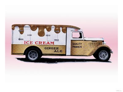 Ice Cream Truck--Art Print