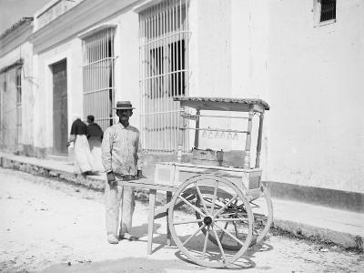 Ice Cream Vendor, Havana, Cuba--Photo