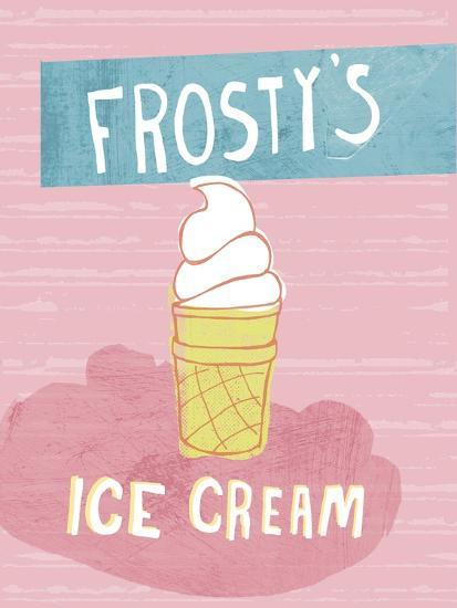 Ice Cream-Esther Loopstra-Giclee Print