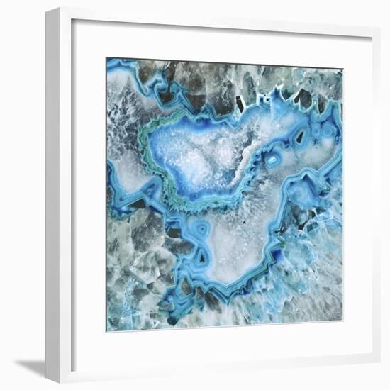 Ice Crystal Geode-GI ArtLab-Framed Premium Giclee Print